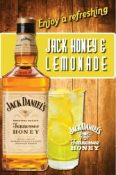 Jack Honey table tent