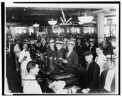 Approaching midnight on January 16, 1920, bar patrons enjoyed one last legal alcoholic beverage