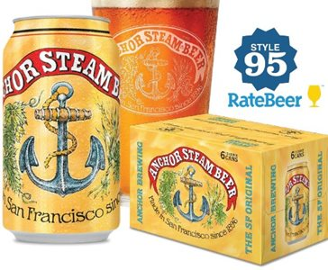 Anchor Steam Beer Can