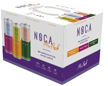 NOCA Non-Carbonated Spiked Still Water