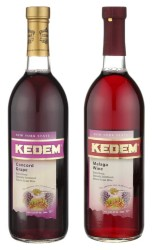 Kedem Concord Grape and Malaga Kosher Wines