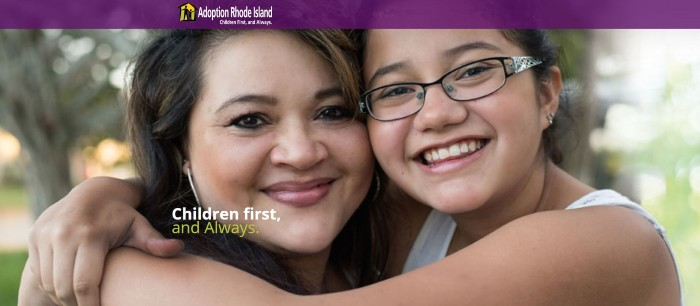 Adoption Rhode Island Children First Always