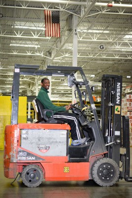 Warehouse employee Diallo