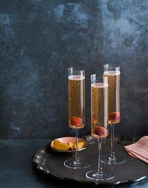 Grand Raspberry Peach Bellini
