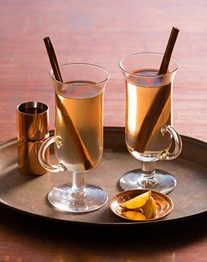 Grand Raspberry Peach Hot Toddy