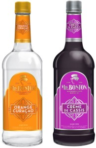 Mr Boston Curacao and Creme de Cassis