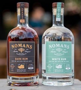Nomans White and Dark New England Rums
