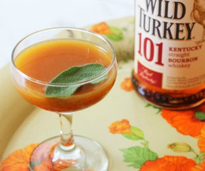 PUMPKIN SAGE BOURBON COCKTAIL